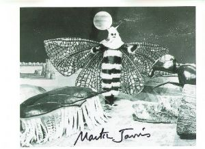 Martin Jarvis from The Web Planet